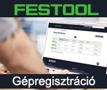 FESTOOL Gépregisztráció