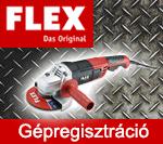 FLEX Gépregisztráció