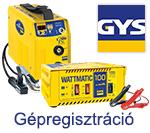 GYS Gépregisztráció