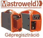 Mastroweld Gépregisztráció