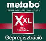 Metabo Gépregisztráció