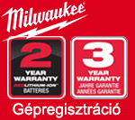 Milwaukee Gépregisztráció