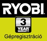 Ryobi Gépregisztráció